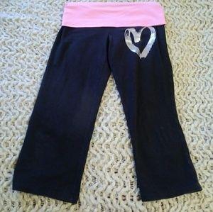 Small PINK Victoria Secret Yoga Pants